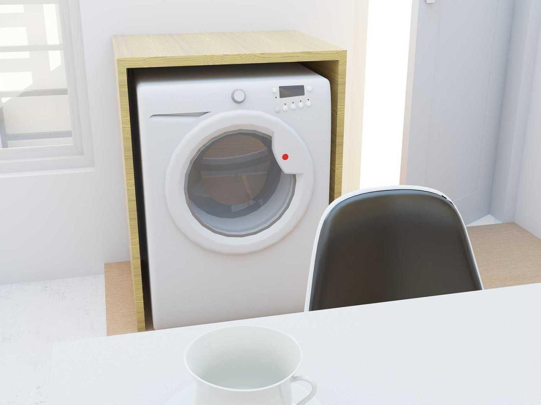 Foto inspirasi ide desain laundry Loundry area oleh ARZ STUDIO di Arsitag