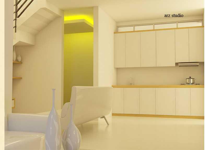 Arz Studio Desain Rumah Renovasi Di Malang Landungsari, Dau, Malang, Jawa Timur, Indonesia Landungsari, Dau, Malang, Jawa Timur, Indonesia Kitchen Set Minimalis 46042