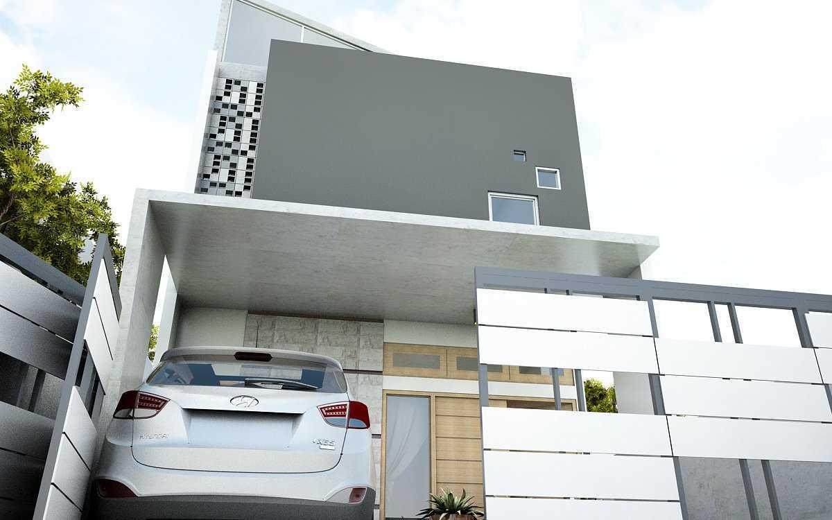 Arz Studio Desain Rumah Tropical Di Blitar Kademangan, Blitar, Jawa Timur, Indonesia Kademangan, Blitar, Jawa Timur, Indonesia Canopy  42743