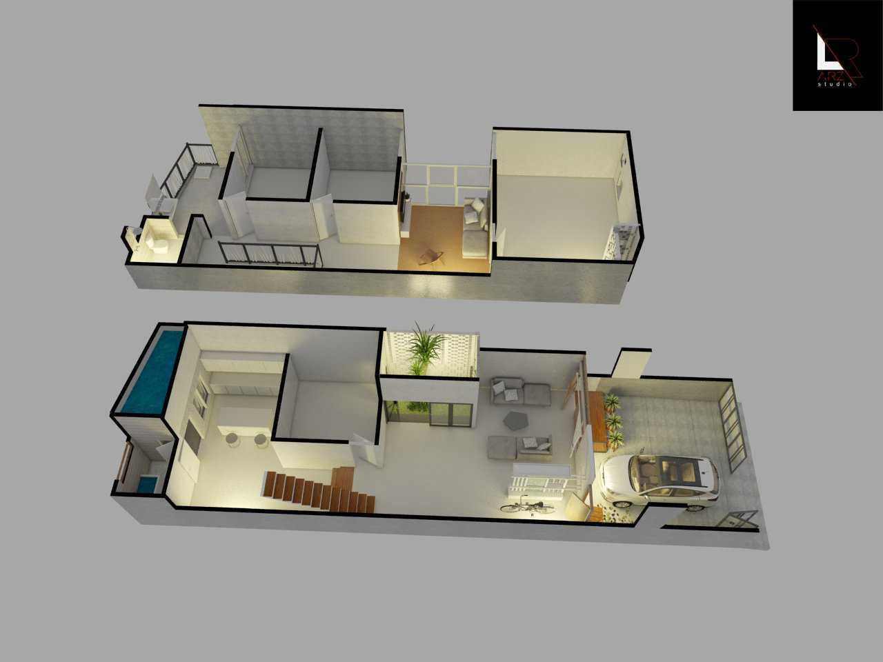 Arz Studio Desain Rumah Tropical Di Blitar Kademangan, Blitar, Jawa Timur, Indonesia Kademangan, Blitar, Jawa Timur, Indonesia Canopy  42744