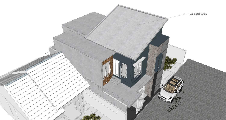 Arz Studio Desain Renovasi Rumah 2 Lt. Malang, Kota Malang, Jawa Timur, Indonesia Malang, Kota Malang, Jawa Timur, Indonesia Tampilan Atap  45341