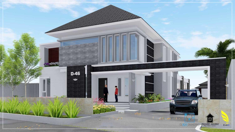 Pionner Architect R House Banda Aceh, Kota Banda Aceh, Aceh, Indonesia Banda Aceh, Kota Banda Aceh, Aceh, Indonesia Tampak Depan Modern 43251