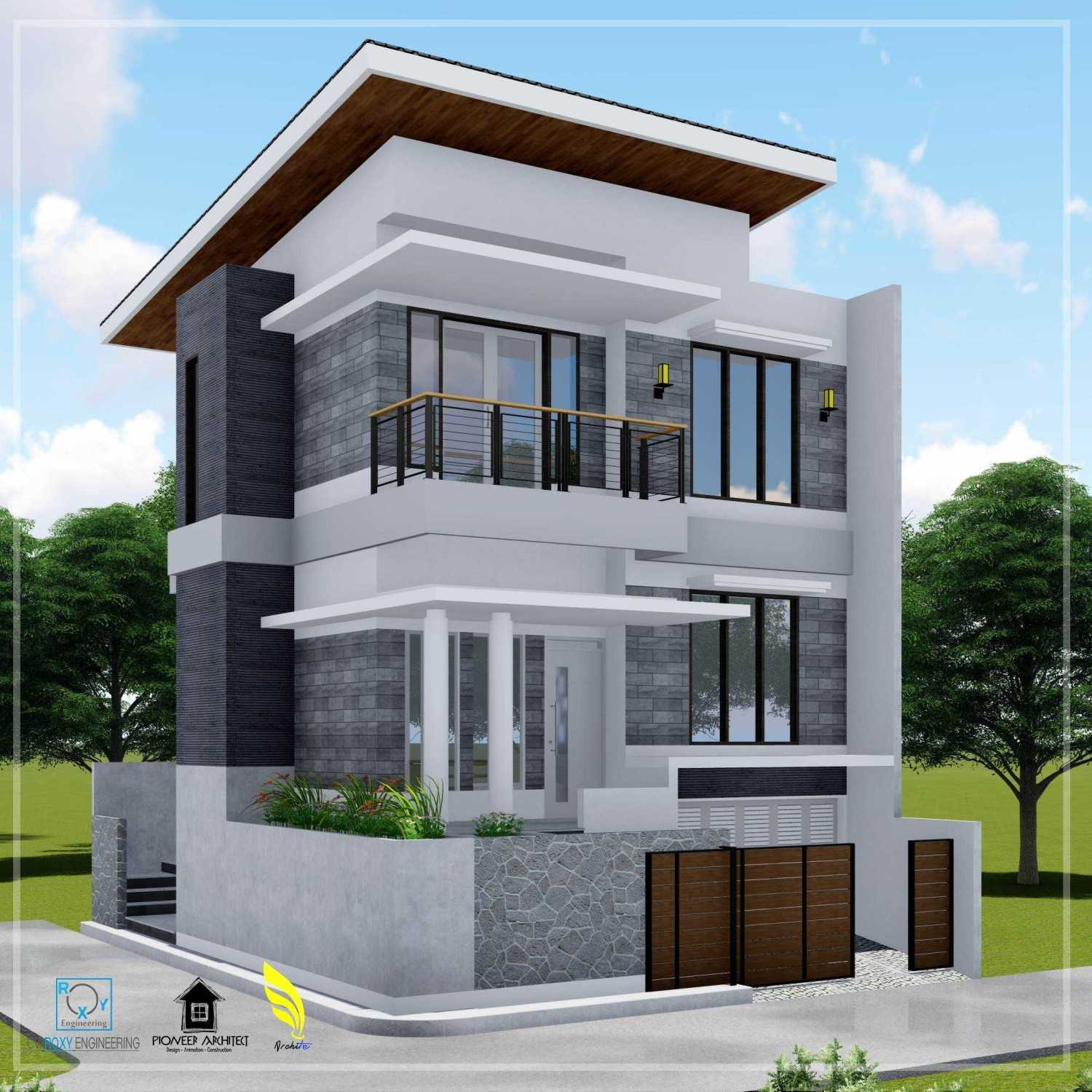 Pionner Architect N House Lhokseumawe, Kota Lhokseumawe, Aceh, Indonesia Lhokseumawe, Kota Lhokseumawe, Aceh, Indonesia Side View Modern 43258