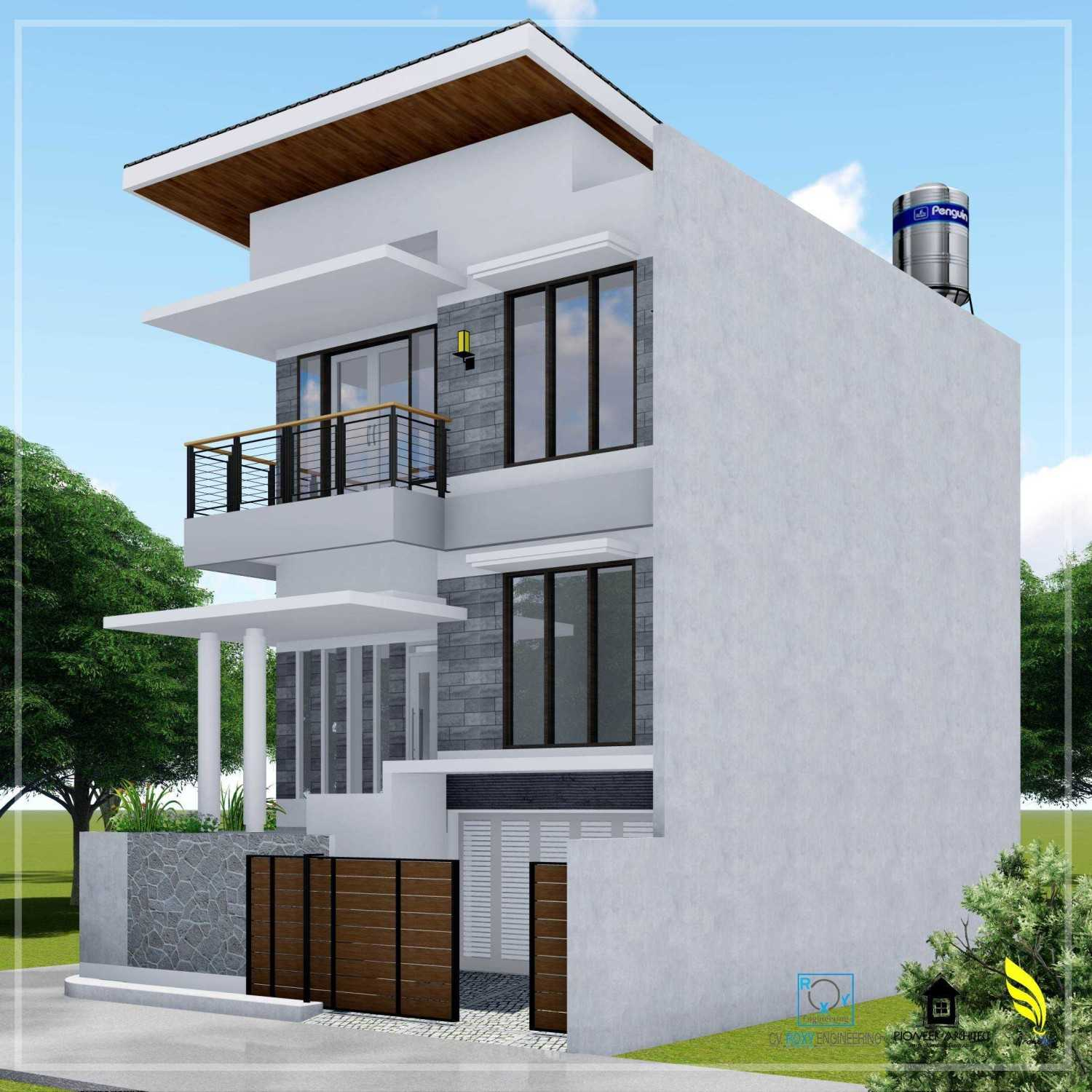 Pionner Architect N House Lhokseumawe, Kota Lhokseumawe, Aceh, Indonesia Lhokseumawe, Kota Lhokseumawe, Aceh, Indonesia Side View Modern 43259