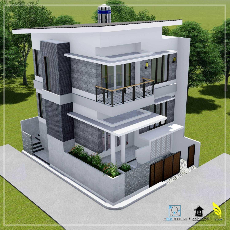 Pionner Architect N House Lhokseumawe, Kota Lhokseumawe, Aceh, Indonesia Lhokseumawe, Kota Lhokseumawe, Aceh, Indonesia Facade View Modern 43260