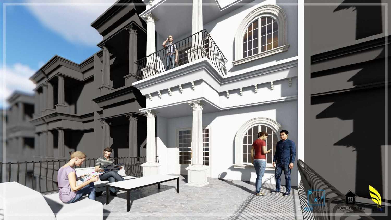 Pionner Architect Piazza House Renovation Kota Medan, Sumatera Utara, Indonesia Kota Medan, Sumatera Utara, Indonesia Balcony Classic 43300