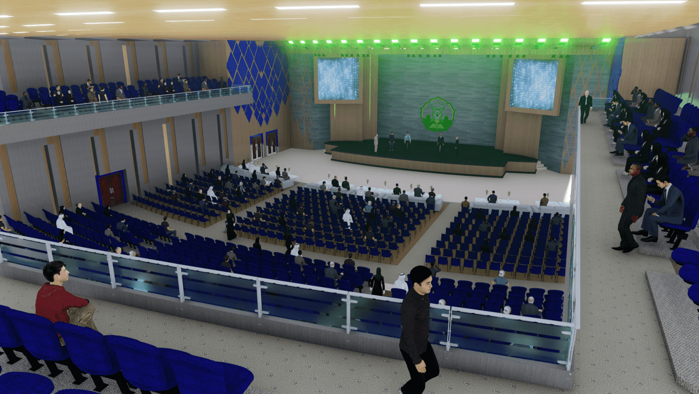 Pionner Architect Auditorium Poltekes Aceh Banda Aceh, Kota Banda Aceh, Aceh, Indonesia Banda Aceh, Kota Banda Aceh, Aceh, Indonesia Interior - Tribun Atas Contemporary 43380