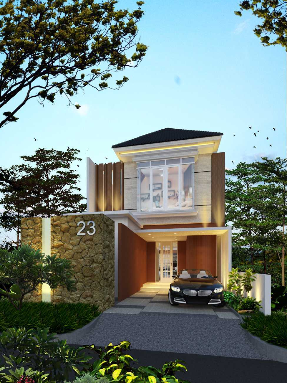 Sense Studio Residence - Surabaya Surabaya, Kota Sby, Jawa Timur, Indonesia Surabaya, Kota Sby, Jawa Timur, Indonesia Sense-Studio-Rumah-Tinggal-Kertomenanggal  51649