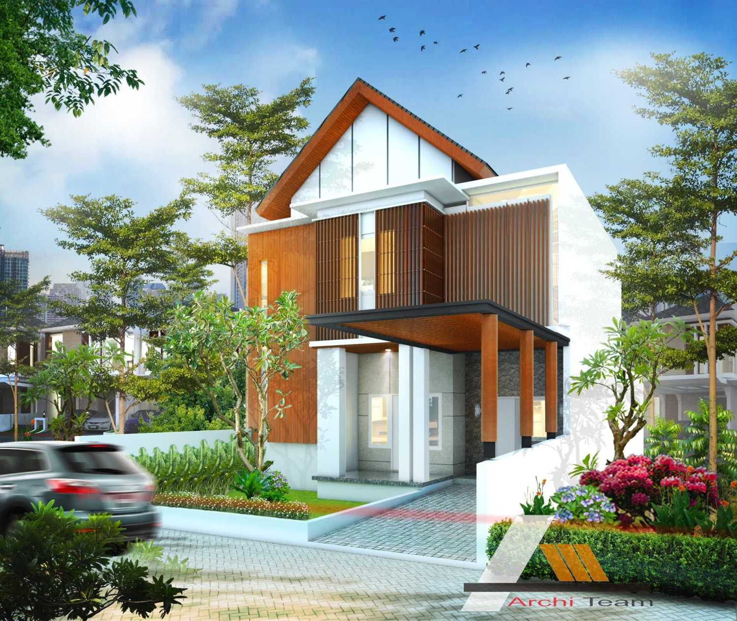 Dwy Ariyanto Contemporary I House Renovation Tambun, Tambun Sel., Bekasi, Jawa Barat, Indonesia  Contemporary I House Renovation - Facade Contemporary 43441