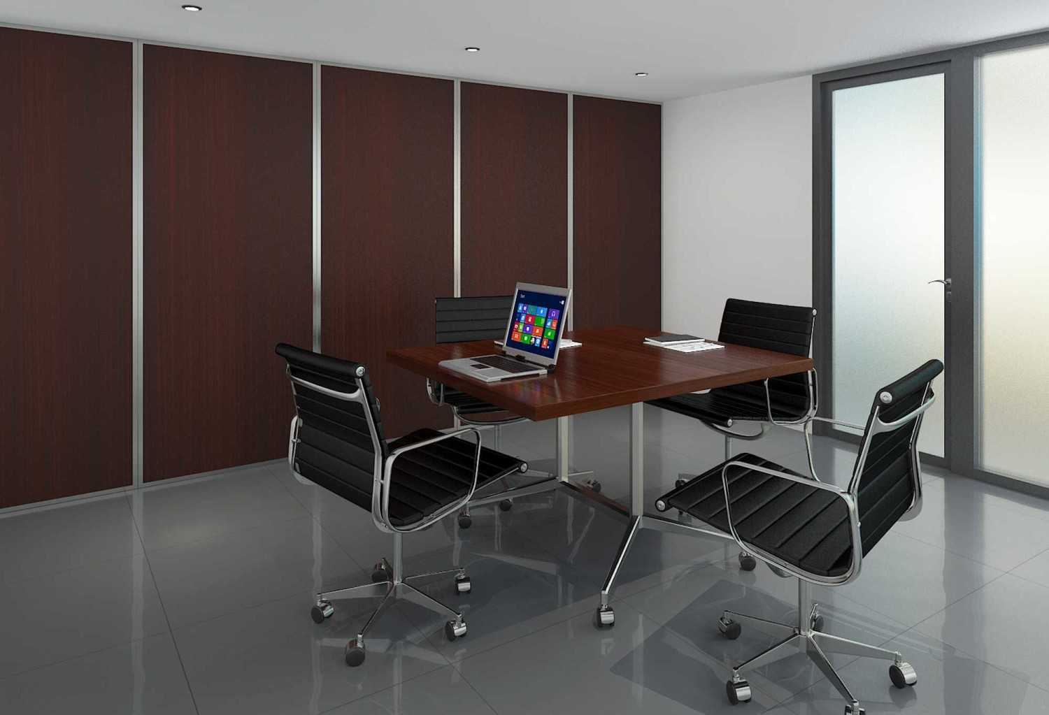 Foto inspirasi ide desain ruang meeting asian Meeting room oleh Pinto Interior di Arsitag