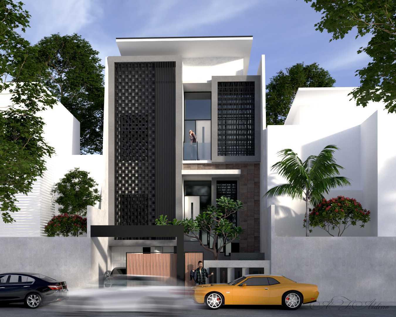 Andi Fauzy Aldino Box House Kota Makassar, Sulawesi Selatan, Indonesia Kota Makassar, Sulawesi Selatan, Indonesia Front View Rendering Contemporary 46967