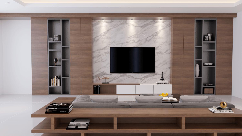Gm Concept Modern Living Room Kota Denpasar, Bali, Indonesia Kota Denpasar, Bali, Indonesia Living Room Contemporary 46089