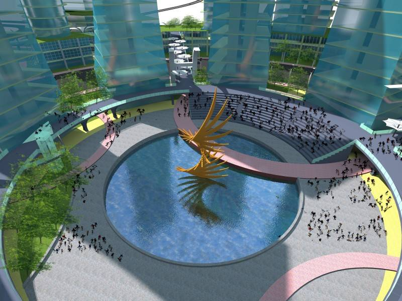 Evan Kriswandi The Radiant Bsd, South Tangerang Bsd, South Tangerang 27-Central-Plaza Kontemporer 6599