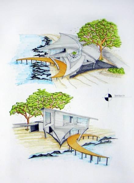 Evan Kriswandi An Artist's House Carita Beach Carita Beach Perspektif  873