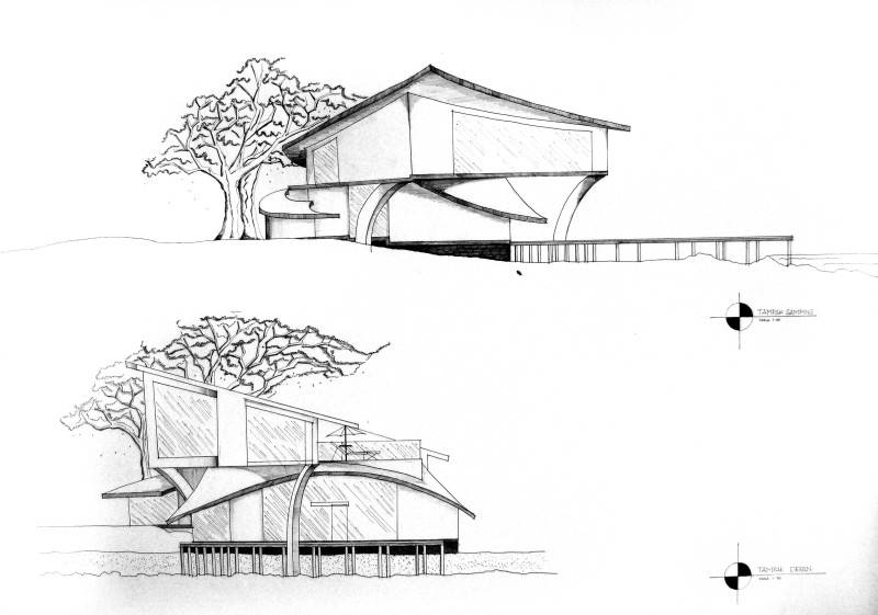 Evan Kriswandi An Artist's House Carita Beach Carita Beach Tampak1  874