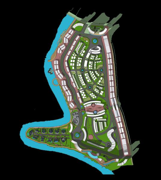 Evan Kriswandi Vibrant Urban Community Tangerang Tangerang Denah-Waterfront1  934