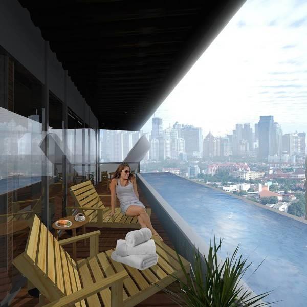 Evan Kriswandi Bourgeois Bohemian Hotel Jakarta Jakarta Suite Balcony  639