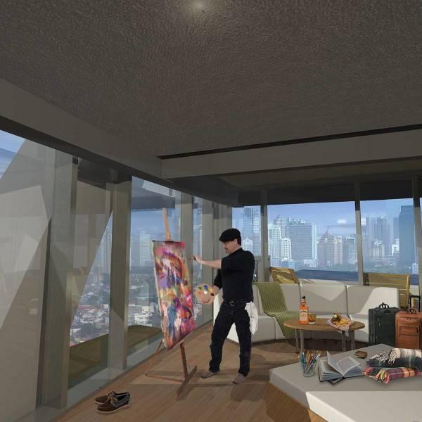 Evan Kriswandi Bourgeois Bohemian Hotel Jakarta Jakarta Artist Suite  640