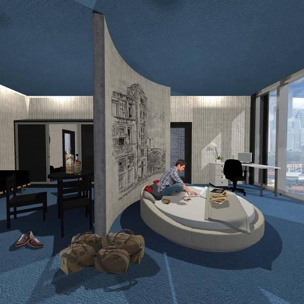 Evan Kriswandi Bourgeois Bohemian Hotel Jakarta Jakarta Room  642