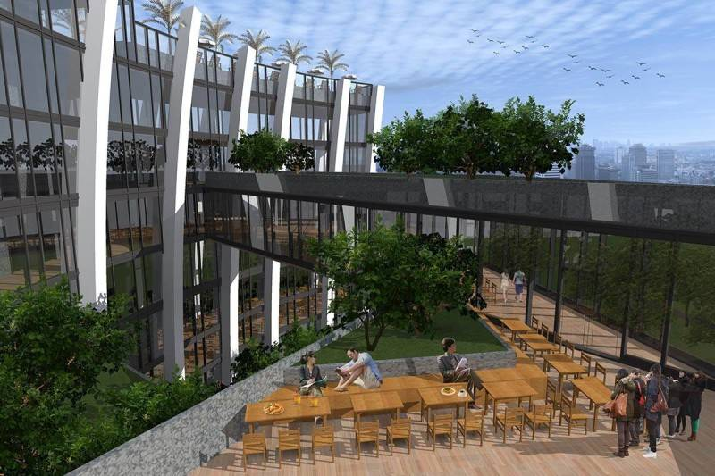 Evan Kriswandi Bourgeois Bohemian Hotel Jakarta Jakarta Outdoor Restaurant  643