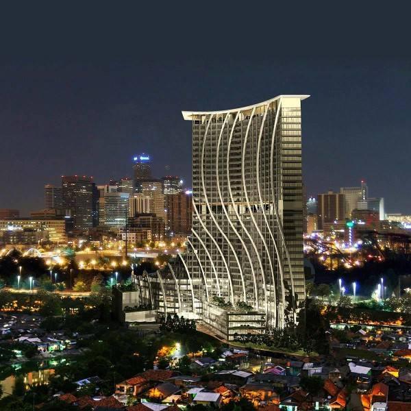Evan Kriswandi Bourgeois Bohemian Hotel Jakarta Jakarta Night Perspective  651