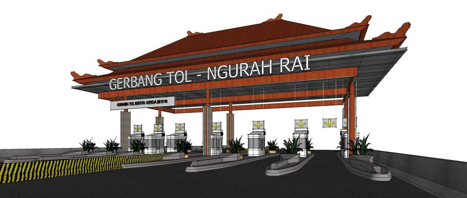 Gubah Ruang Studio Ngurah Rai – Benoa Toll Gate Bali, Indonesia Bali, Indonesia Toll Gate View  50663
