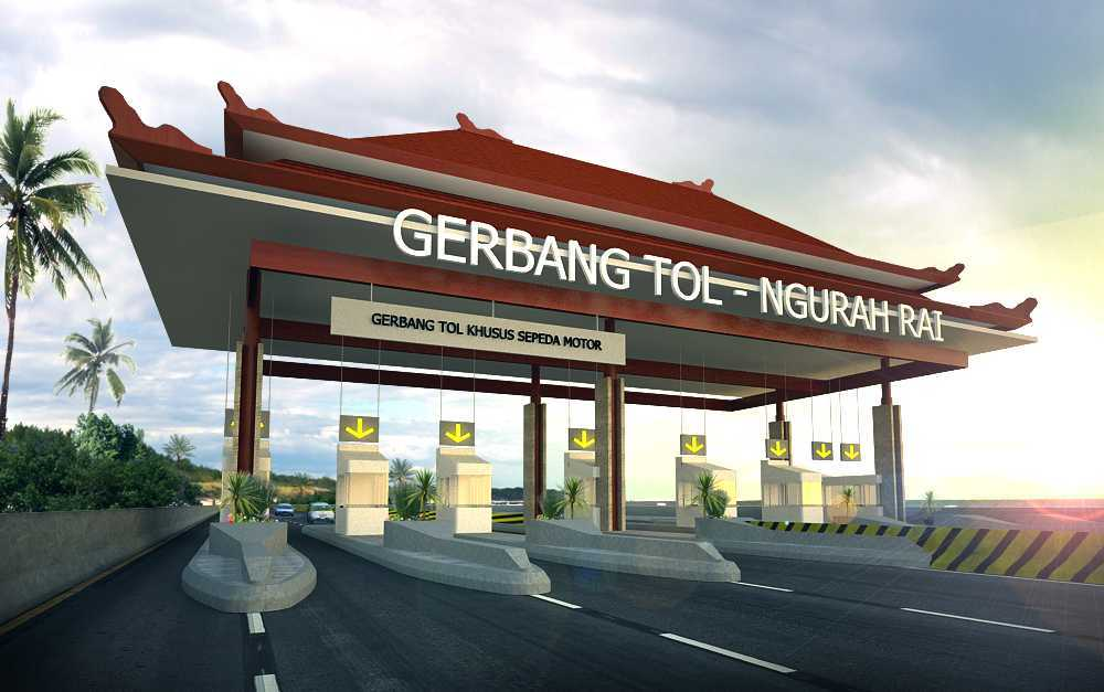 Gubah Ruang Studio Ngurah Rai – Benoa Toll Gate Bali, Indonesia Bali, Indonesia Toll Gate View  50664