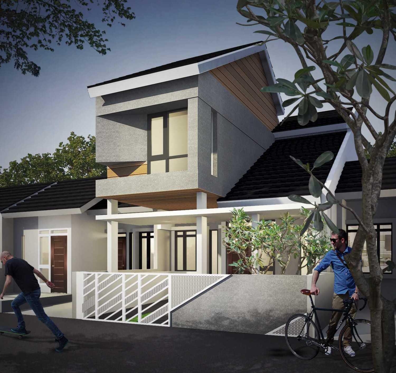 Gubah Ruang R House Bandung, Kota Bandung, Jawa Barat, Indonesia Bandung, Kota Bandung, Jawa Barat, Indonesia Exterior View Minimalist 50697