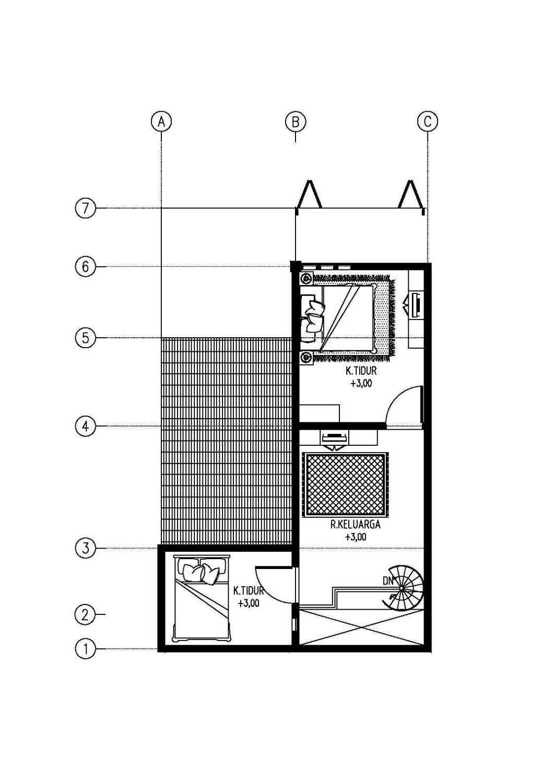 Gubah Ruang R House Bandung, Kota Bandung, Jawa Barat, Indonesia Bandung, Kota Bandung, Jawa Barat, Indonesia Floorplan Minimalis 51177