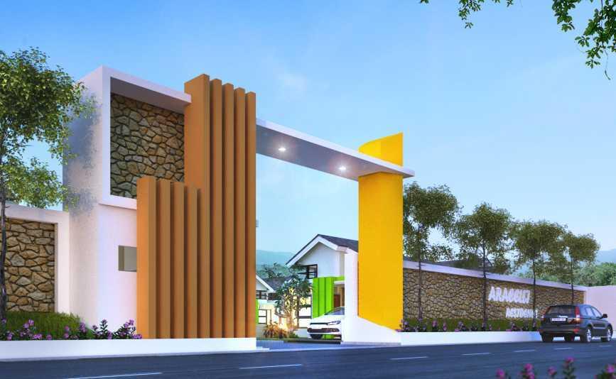 Gubah Ruang B Residence Jakarta, Daerah Khusus Ibukota Jakarta, Indonesia Jakarta, Daerah Khusus Ibukota Jakarta, Indonesia Entrance Gate Minimalist 50698