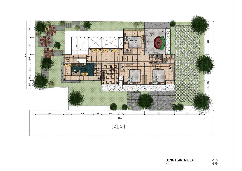 Gubah Ruang Ag Residence Bandung, Kota Bandung, Jawa Barat, Indonesia Bandung, Kota Bandung, Jawa Barat, Indonesia Floorplan  50716