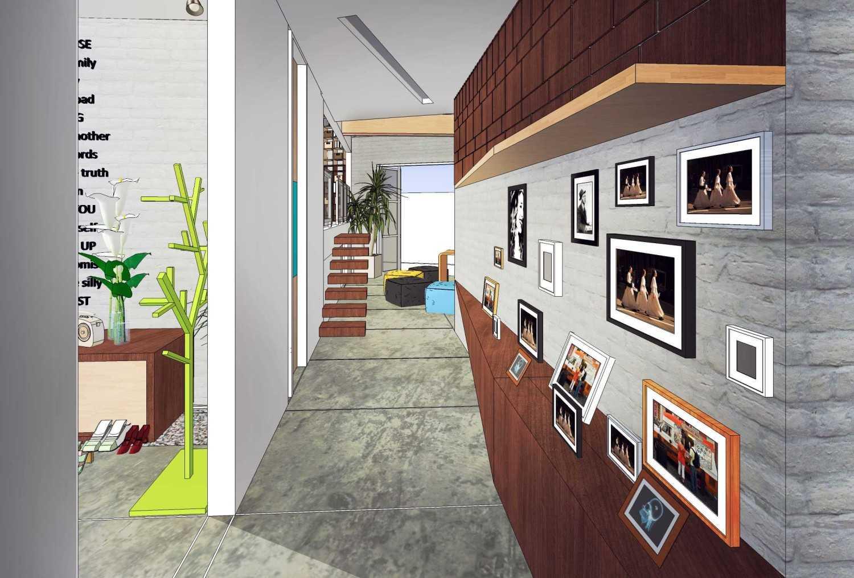 Gubah Ruang Raw House Bandung, Kota Bandung, Jawa Barat, Indonesia Bandung, Kota Bandung, Jawa Barat, Indonesia Corridor Area Kontemporer 50723