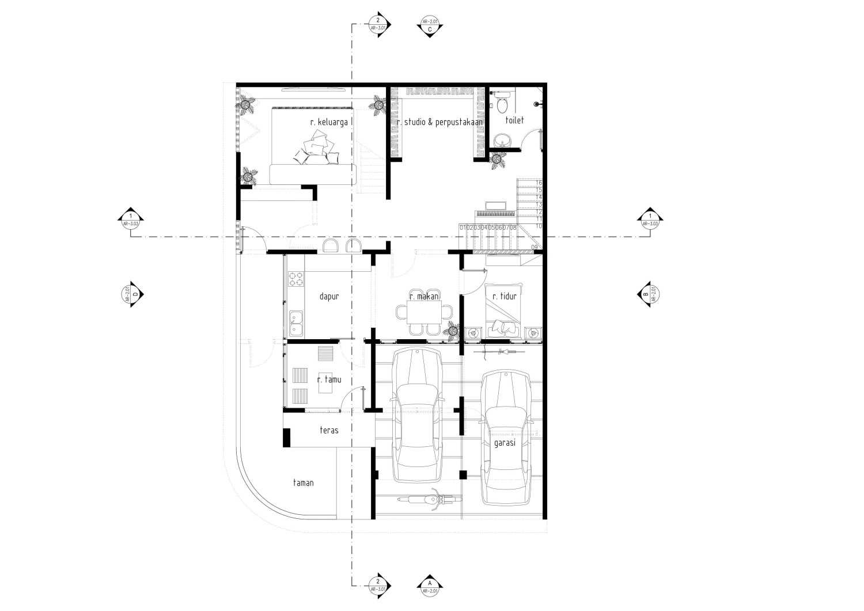 Gubah Ruang Studio Il Residence Bandung, Kota Bandung, Jawa Barat, Indonesia Bandung, Kota Bandung, Jawa Barat, Indonesia Floorplan  51213