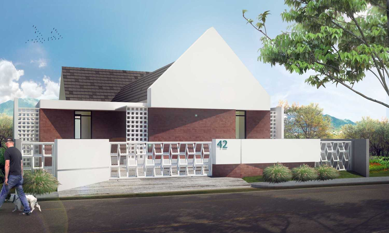 Gubah Ruang Studio R Residence Pekanbaru, Kota Pekanbaru, Riau, Indonesia Pekanbaru, Kota Pekanbaru, Riau, Indonesia Facade View Modern 50751