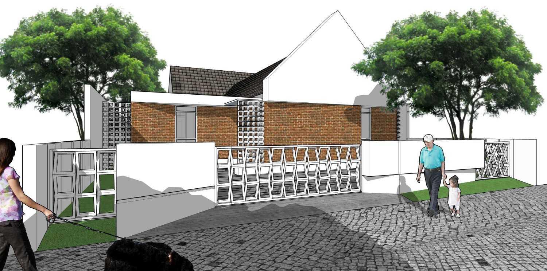 Gubah Ruang Studio R Residence Pekanbaru, Kota Pekanbaru, Riau, Indonesia Pekanbaru, Kota Pekanbaru, Riau, Indonesia Exterior View Modern 50752