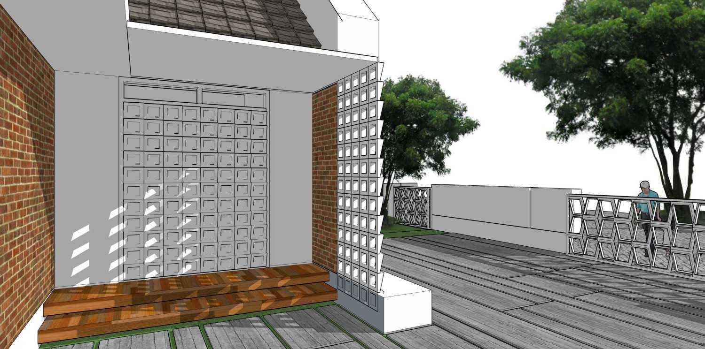 Gubah Ruang Studio R Residence Pekanbaru, Kota Pekanbaru, Riau, Indonesia Pekanbaru, Kota Pekanbaru, Riau, Indonesia Entrance Area Modern 50754