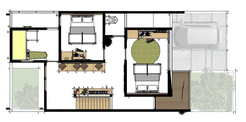 Gubah Ruang Studio Wb Residence Bekasi, Kota Bks, Jawa Barat, Indonesia Bekasi, Kota Bks, Jawa Barat, Indonesia Floorplan  50797