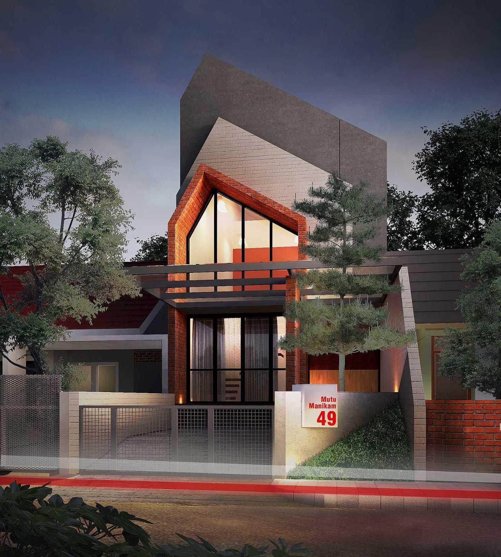 Gubah Ruang C1 House Bandung, Kota Bandung, Jawa Barat, Indonesia Bandung, Kota Bandung, Jawa Barat, Indonesia Facade View Modern 50891