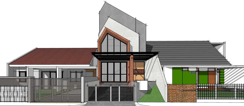 Gubah Ruang C1 House Bandung, Kota Bandung, Jawa Barat, Indonesia Bandung, Kota Bandung, Jawa Barat, Indonesia Front View Rendering  51358