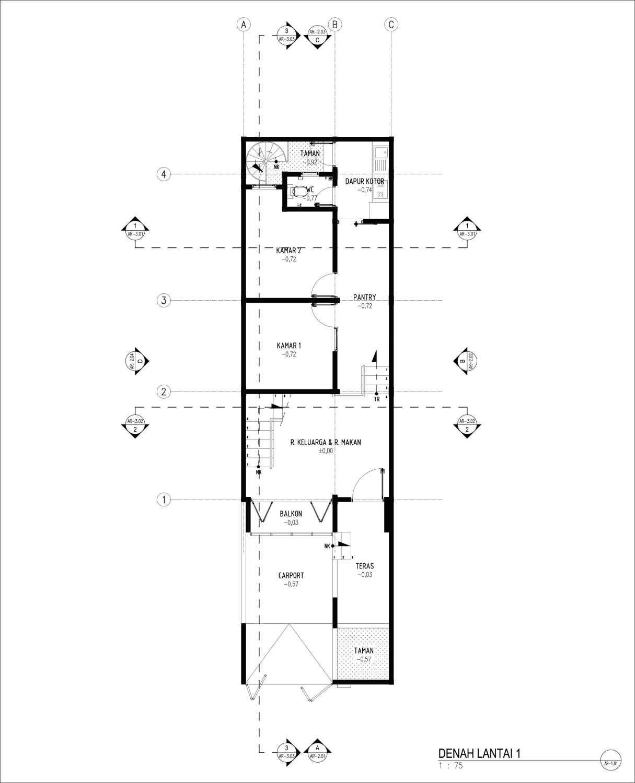 Gubah Ruang C2 House Bandung, Kota Bandung, Jawa Barat, Indonesia Bandung, Kota Bandung, Jawa Barat, Indonesia Floorplan  51200