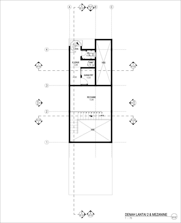 Gubah Ruang C2 House Bandung, Kota Bandung, Jawa Barat, Indonesia Bandung, Kota Bandung, Jawa Barat, Indonesia Floorplan  51201