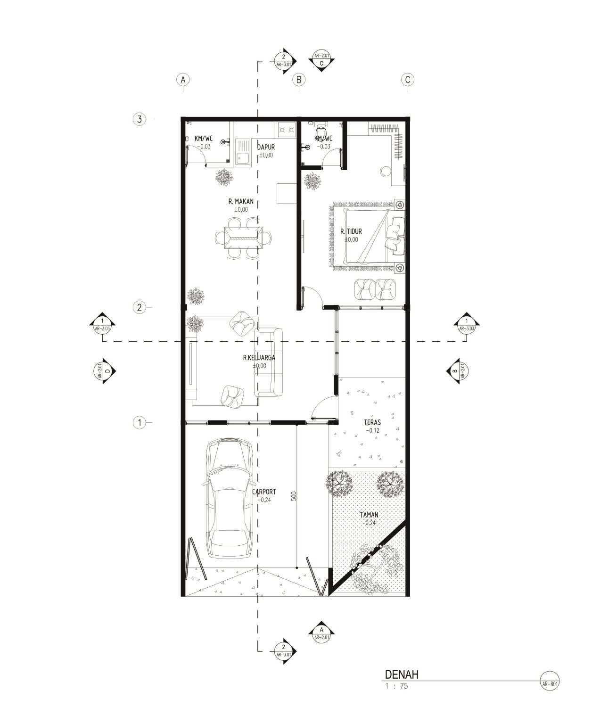 Gubah Ruang Studio Gy House Bandung, Kota Bandung, Jawa Barat, Indonesia Bandung, Kota Bandung, Jawa Barat, Indonesia Floorplan Modern 51068