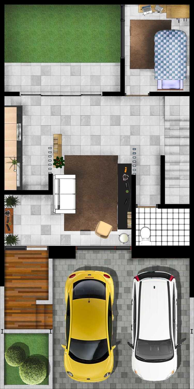 Gubah Ruang Drn Residence Palembang, Kota Palembang, Sumatera Selatan, Indonesia Palembang, Kota Palembang, Sumatera Selatan, Indonesia Floorplan  50966