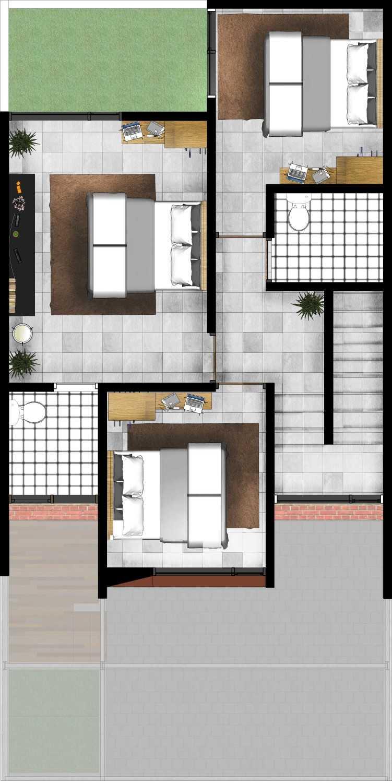 Gubah Ruang Drn Residence Palembang, Kota Palembang, Sumatera Selatan, Indonesia Palembang, Kota Palembang, Sumatera Selatan, Indonesia Floorplan  50967