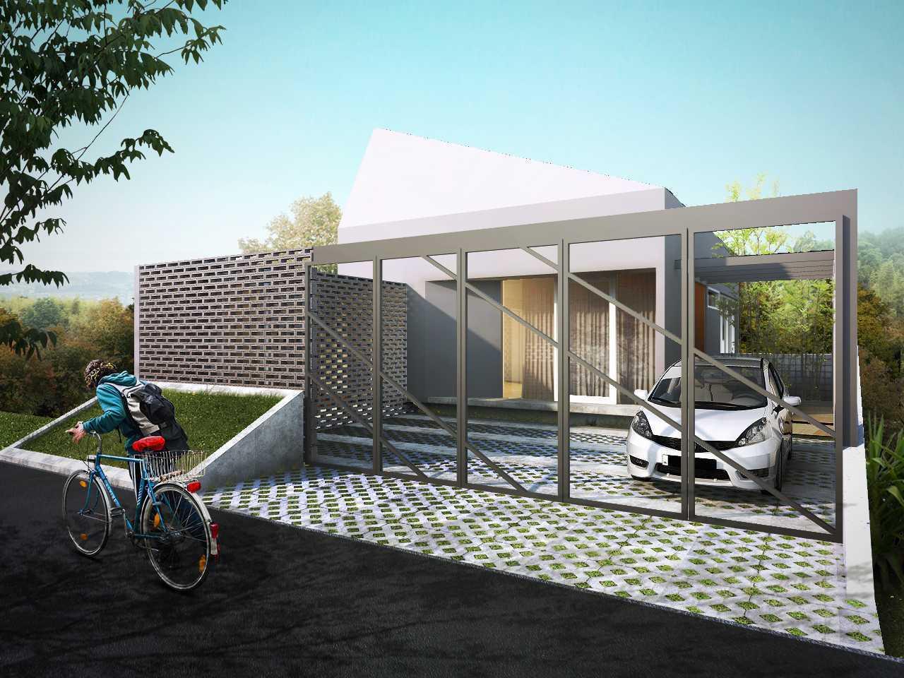 Gubah Ruang D-House Lembang, Kabupaten Bandung Barat, Jawa Barat, Indonesia Lembang, Kabupaten Bandung Barat, Jawa Barat, Indonesia Facade View Modern 50987