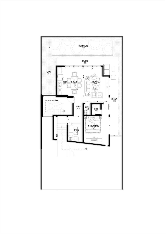 Gubah Ruang Sl House Bogor, Jawa Barat, Indonesia Bogor, Jawa Barat, Indonesia Floorplan Modern 51174