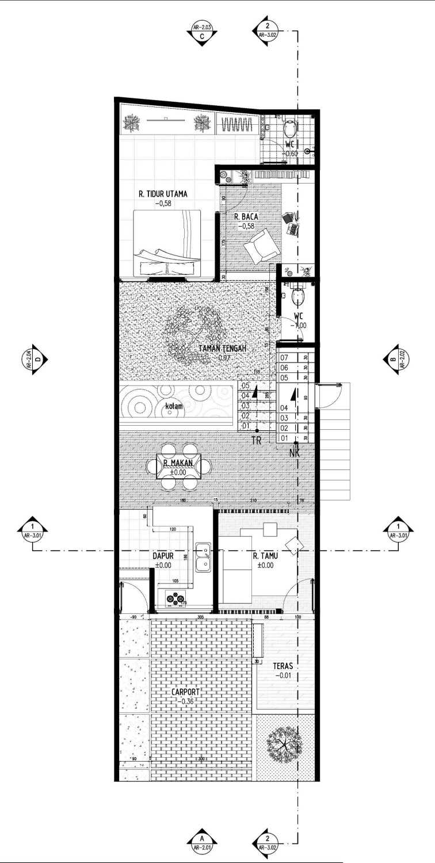 Gubah Ruang A2-House Bandung, Kota Bandung, Jawa Barat, Indonesia Bandung, Kota Bandung, Jawa Barat, Indonesia Floorplan  50993
