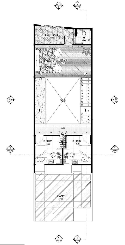 Gubah Ruang A2-House Bandung, Kota Bandung, Jawa Barat, Indonesia Bandung, Kota Bandung, Jawa Barat, Indonesia Floorplan Modern 50994