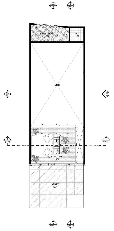 Gubah Ruang A2-House Bandung, Kota Bandung, Jawa Barat, Indonesia Bandung, Kota Bandung, Jawa Barat, Indonesia Floorplan  50995