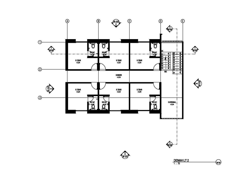 Gubah Ruang J N - Boarding House Medan, Kota Medan, Sumatera Utara, Indonesia Medan, Kota Medan, Sumatera Utara, Indonesia Floorplan  51072